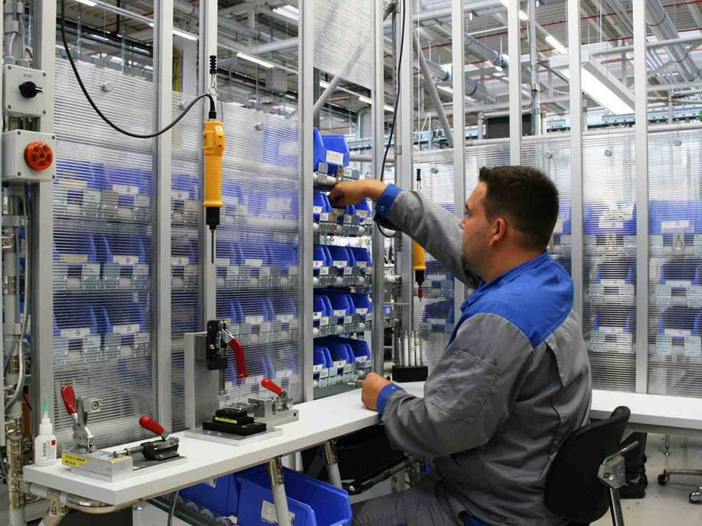 Reubicaci nes industriales proyectos en manufactura for Estacion de trabajo